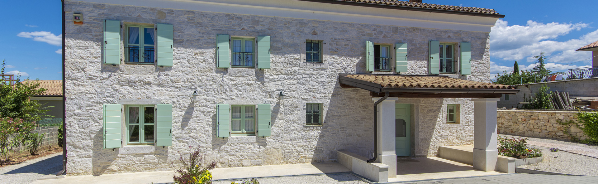stone villas in Istria