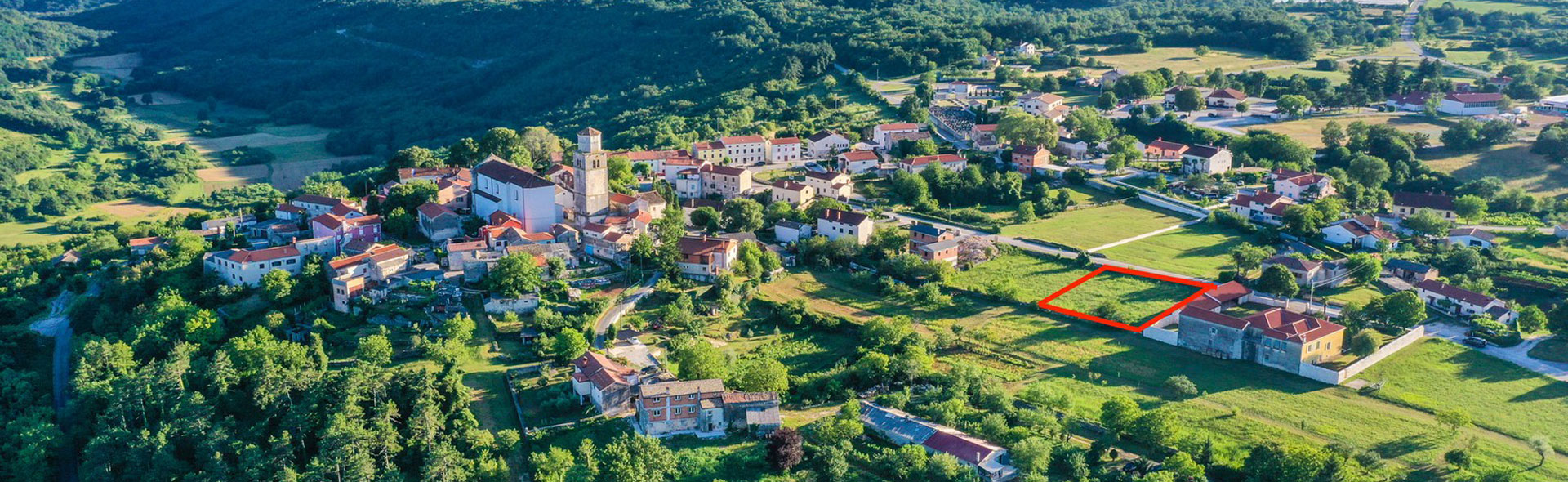Ville di pietra in Istria